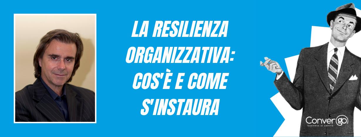 resilienza organizzativa